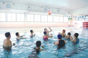 水中ウォーキング教室