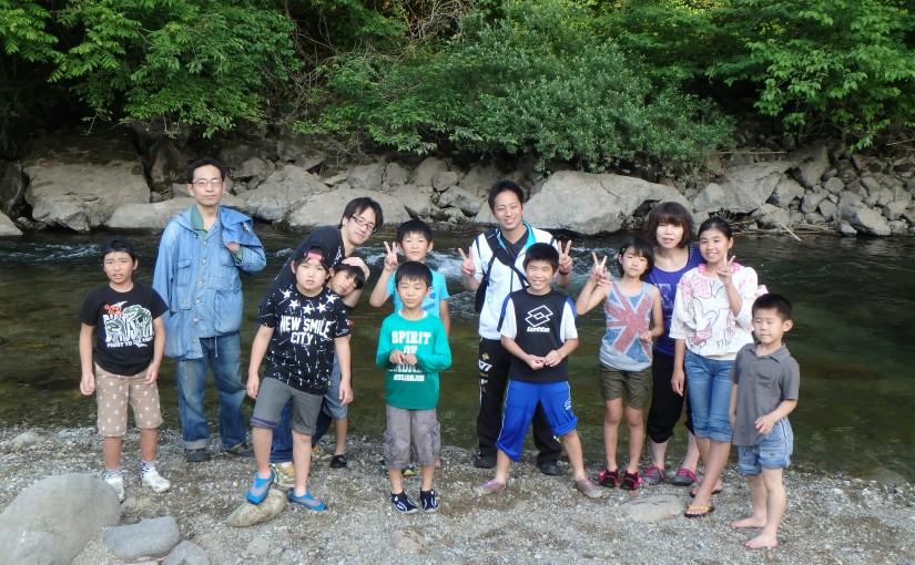 野外・水中活動体験教室 ~ 元気ッズクラブ5月カリキュラムイベント報告