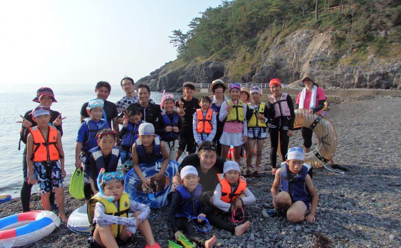 野外・水中活動体験教室 ~ 元気ッズクラブ8月カリキュラムイベント報告