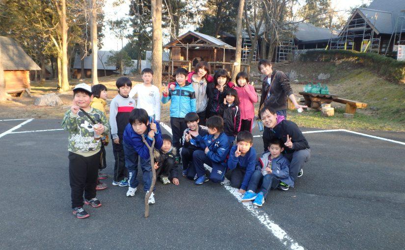 3月5日美祢秋吉ジオパークマラソン参加&家族旅行村宿泊