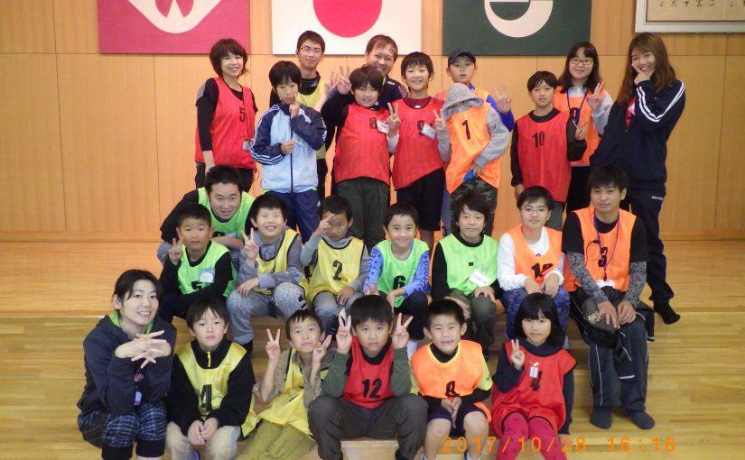 10月イベント報告 秋吉青少年自然の家宿泊 ときわ公園へ