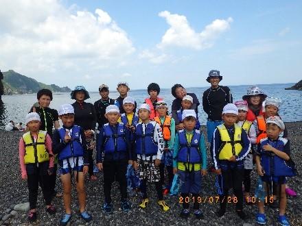 7/28 元気ッズクラブ シュノーケル&ダイビング体験イベント開催