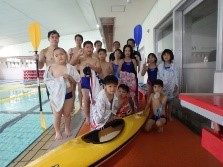 6月27日(土)プールでカヌーをしよう!!