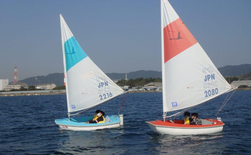 11月の元気ッズイベント『小型ヨット』