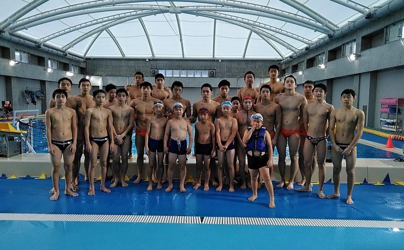 西京高校 水球部見学