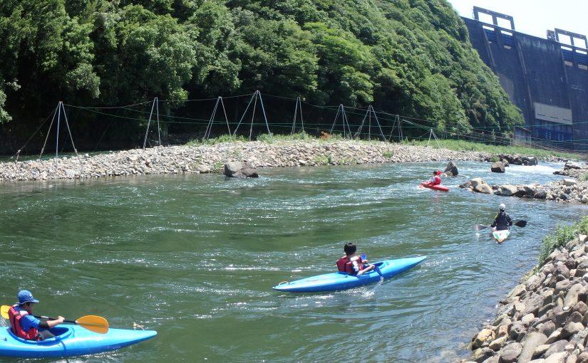 5月 あぶ川カヌー体験